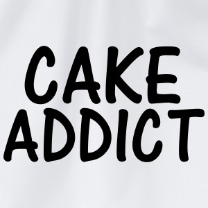 cake addict T-Shirts - Drawstring Bag