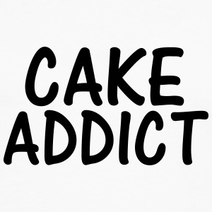 cake addict T-Shirts - Men's Premium Longsleeve Shirt