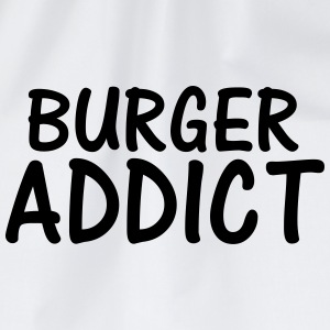 burger addict T-Shirts - Drawstring Bag