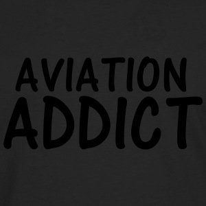 aviation addict T-Shirts - Men's Premium Longsleeve Shirt