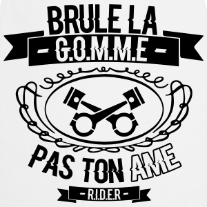 brule la gomme Sweat-shirts - Tablier de cuisine