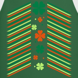 st.Patrick's day patterns Men's T-Shirt - Cooking Apron