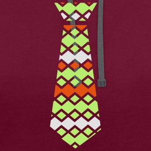 St.Patty's day necktie Women's Scoop Neck T-Shirt - Contrast Colour Hoodie