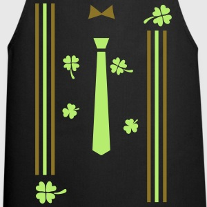 lucky charm st.Patty's  Men's Slim Fit T-Shirt - Cooking Apron
