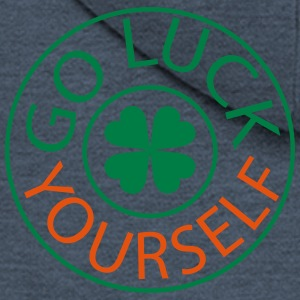 Go luck yourself st.Patty's day Men's V-Neck T-S - Men's Premium Hooded Jacket