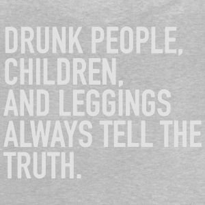 DRUNKEN TELL THE TRUTH Long Sleeve Shirts - Baby T-Shirt