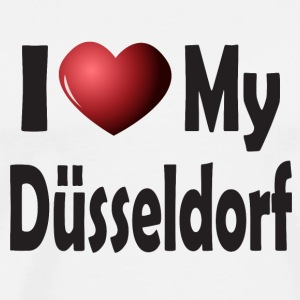 I Love My Düsseldorf Mugs & Drinkware - Men's Premium T-Shirt