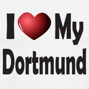 I Love My Dortmund Mugs & Drinkware - Men's Premium T-Shirt