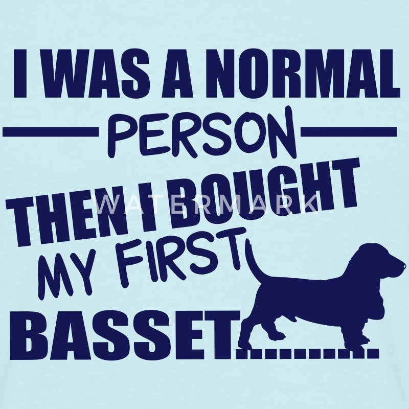 Normal Person - Basset T-shirts - Herre-T-shirt