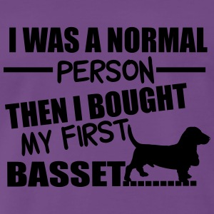 Normal Person - Basset Tops - Men's Premium T-Shirt