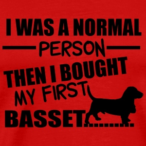 Normal Person - Basset Tops - Camiseta premium hombre
