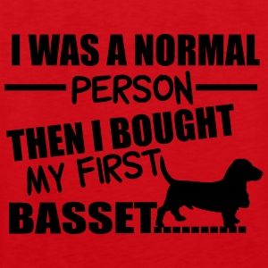 Normal Person - Basset Sweatshirts - Herre Premium tanktop