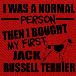 Normal Person -Jack RussellTerrier Magliette - Snapback Cap