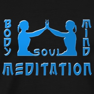 Meditations blue Mugs & Drinkware - Men's Premium T-Shirt