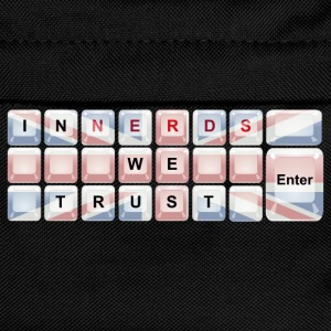 In Nerds We Trust - Enter Union Jack T-Shirts - Kids' Backpack
