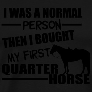 Normal Person - Quarter Horse Manches longues - T-shirt Premium Homme