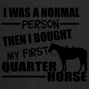 Normal Person - Quarter Horse Tassen & rugzakken - Keukenschort