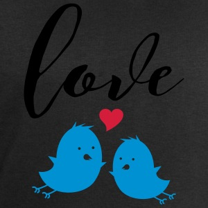 Love (Cute Birds) Tee shirts - Sweat-shirt Homme Stanley & Stella