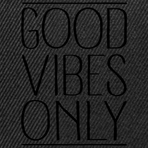 Good Vibes Only Tabliers - Casquette snapback