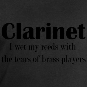 Clarinet, I wet my reeds with the tears  T-Shirts - Men's Sweatshirt by Stanley & Stella