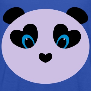 panda white T-Shirts - Women's Tank Top by Bella