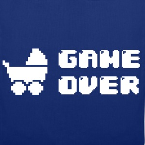 GAME OVER Magliette - Borsa di stoffa