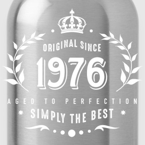 original since 1976 simply the best 40th birthday - Trinkflasche