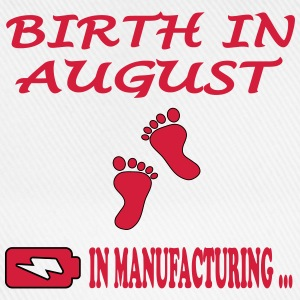 Birth in august T-Shirts - Baseball Cap