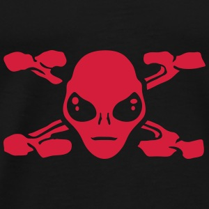 pirate alien Sweat-shirts - T-shirt Premium Homme