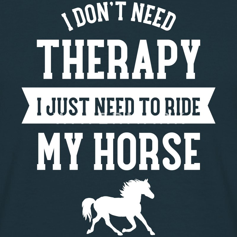 Therapy - Ride My Horse T-shirts - Herre-T-shirt