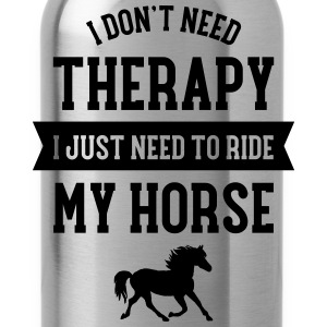 Therapy - Ride My Horse Camisetas - Cantimplora