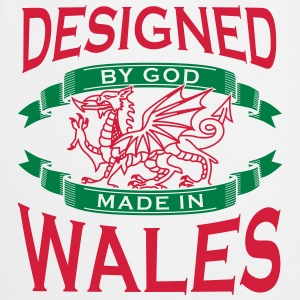 Design by God Wales - Made in Wales T-Shirts - Cooking Apron
