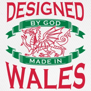 Design by God Wales - Made in Wales T-Shirts - Baseball Cap
