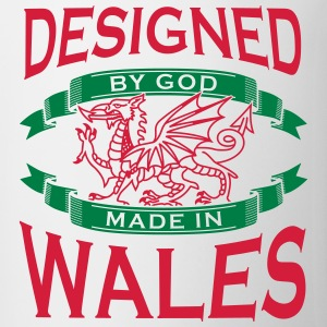 Design by God Wales - Made in Wales T-Shirts - Mug