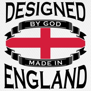Designed by God - Made in England T-Shirts - Baseball Cap
