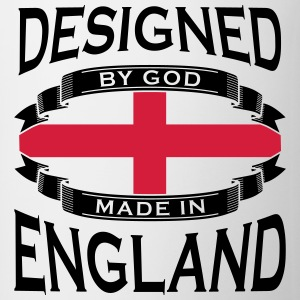 Designed by God - Made in England T-Shirts - Mug