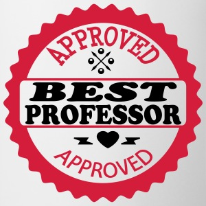 Approved best professor T-shirts - Mugg