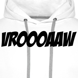 Vroooaaw Tee shirts - Sweat-shirt à capuche Premium pour hommes