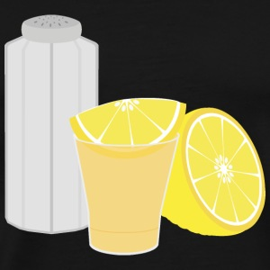 Salt, lemon and tequila Bags & Backpacks - Men's Premium T-Shirt