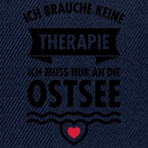 Therapie - Ostsee T-Shirts - Snapback Cap