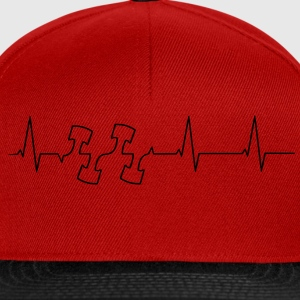 Heartbeat motor zuigers T-shirts - Snapback cap