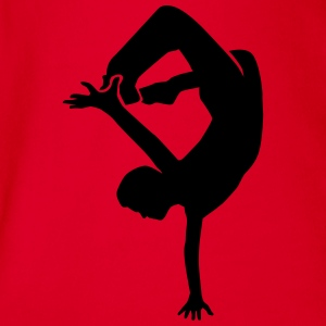 Breakdance T-Shirts - Baby Bio-Kurzarm-Body