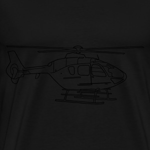 Helicopter Hoodies & Sweatshirts - Men's Premium T-Shirt