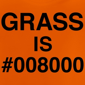Grass is #008000 T-Shirts - Baby T-Shirt