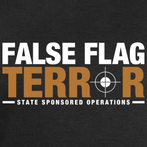 False Flag Terror - Men's Sweatshirt by Stanley & Stella