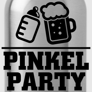 Pinkel Party T-Shirts - Trinkflasche