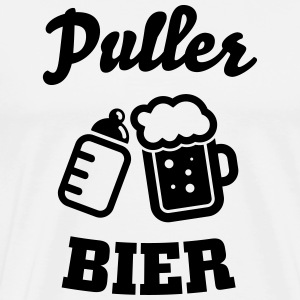 Puller beer Long sleeve shirts - Men's Premium T-Shirt