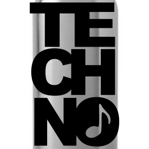 techno T-shirts - Drinkfles