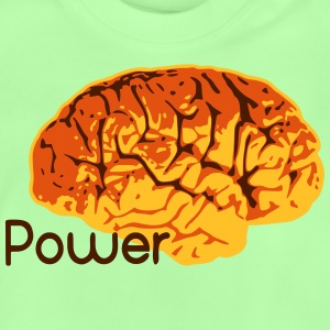 Power Brain IQ Gehirn Training T-Shirts - Baby T-Shirt
