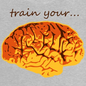 train your brain Gehirn Gedächtnissport T-Shirts - Baby T-Shirt